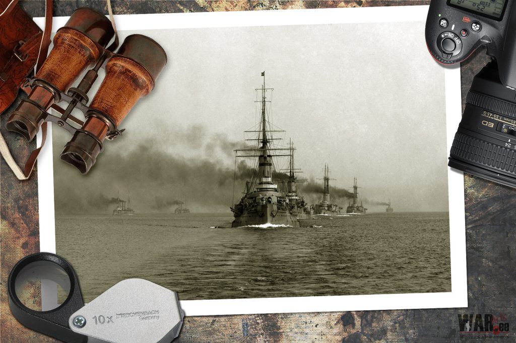 The second brigade of battleships of the battleship squadron of the Baltic Fleet