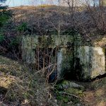 Czar Peter the Great's naval fortress: ruins of the Suurupi artillery battery No.3.