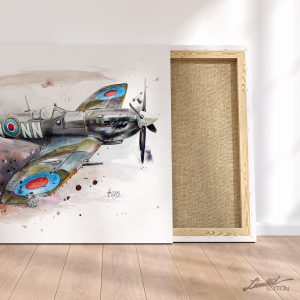 Supermarine Spitfire Canvas Art | Limited Edition