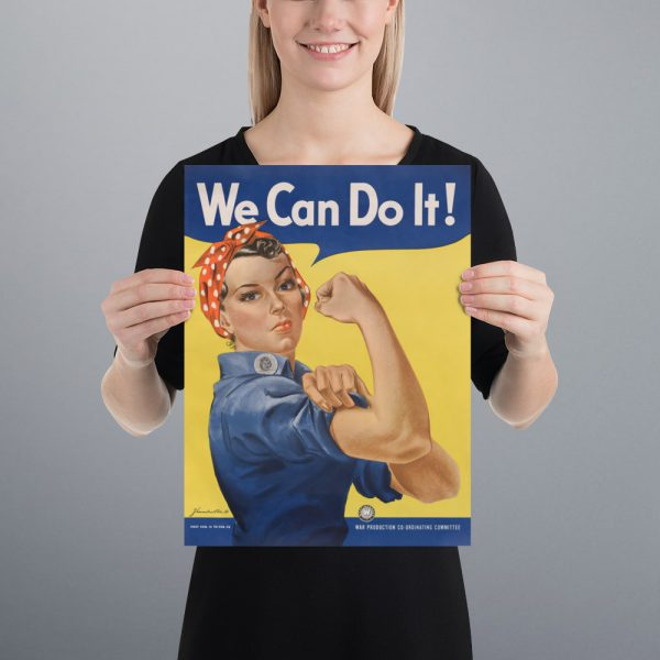 We Can Do It! Matte Poster | 12x16