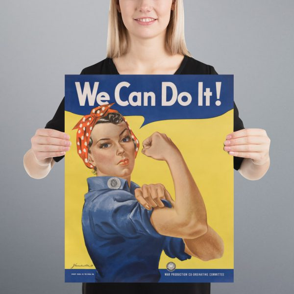 We Can Do It! Matte Poster | 16x20