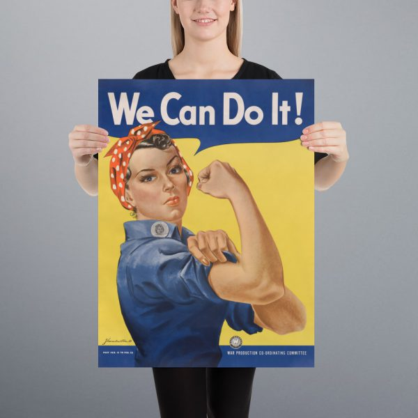 We Can Do It! Matte Poster | 18x24