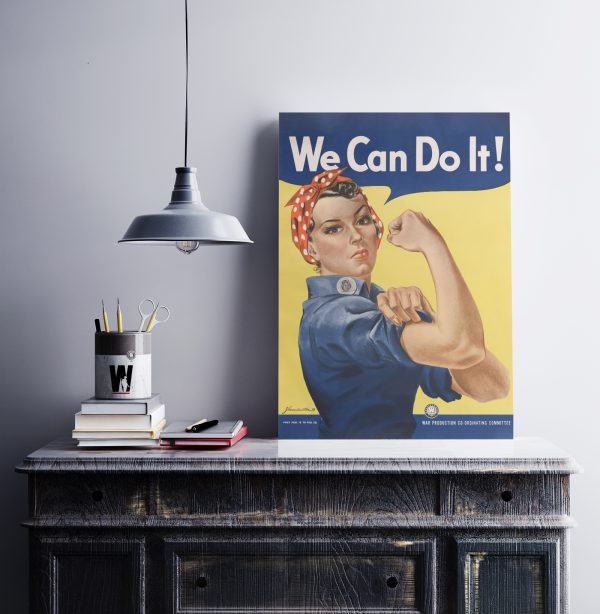 We Can Do It! Matte Poster