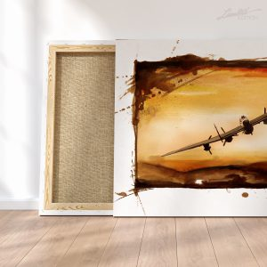 Avro Lancaster Canvas Art | Limited Edition