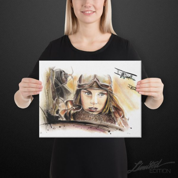 Night Witches Canvas Art | 12x16