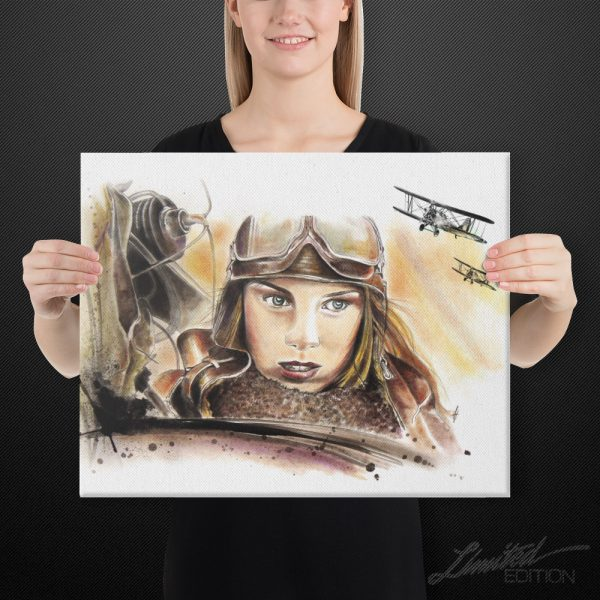 Night Witches Canvas Art | 16x20