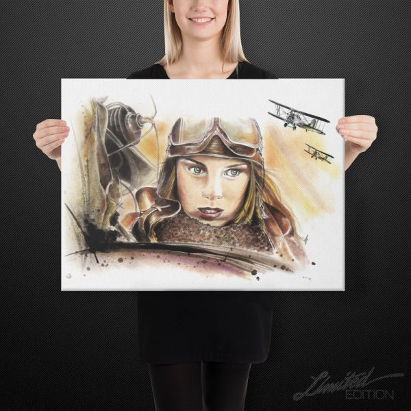 Night Witches Canvas Art | 18x24