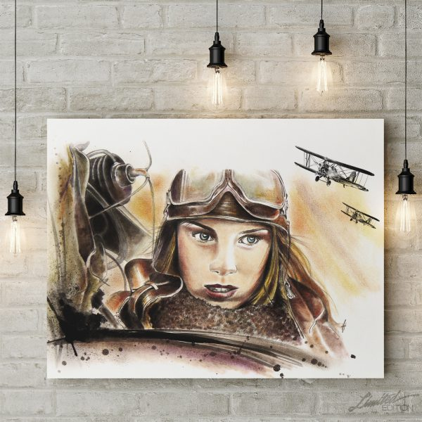 Night Witches Canvas Art | Limited Edition